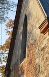 Itäpääty on kirkon vanhinta osaa.