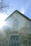 Itäsiivessä sijaitsevat kirkon vanhimmat osat.