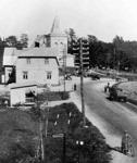 Kirkonkylää 1930-luvulla.