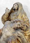 Pietà-veistos on tehty Saksassa 1600-luvulla.