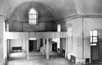 Kirkko heti vuokrakauden jälkeen vuonna 1956.